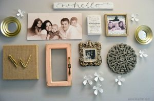 A gallery wall how to to make your gallery wall showcase your personality.
