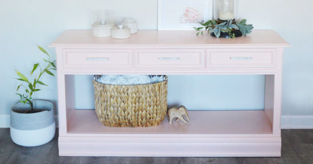 how to refinish furniture with paint